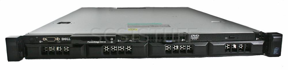 dell poweredge r410 2x x5570 2 93 ghz 16gb 2x 1tb sata hot
